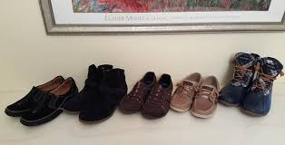 Comfortable Travel Shoes 6 Pairs Of Shoes Great For Travel Or Everyday Wear