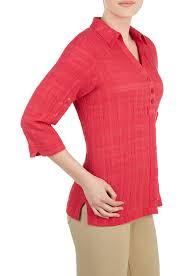 amazon com plus size crinkle gauze shirt roseberry 16w clothing