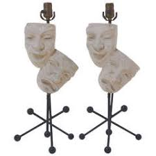 pair of fredrick weinberg guitar lamps for sale at 1stdibs