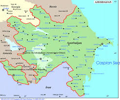Where Is Europe On The Map by Azerbaijan Map Europe