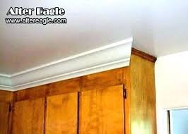 how to install crown molding on kitchen cabinets kitchen cabinet door moldings crown kitchen cabinets on adding