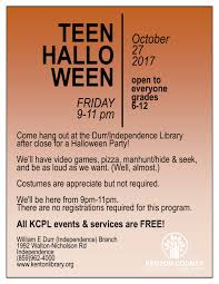 halloween party rhymes kenton county public library u2013 events