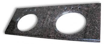 Granite Double Vanity Top Granite Vanity Top 61wide 22deep Color Tan Brown Double Sink Cut