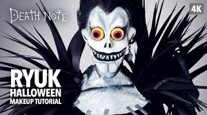 halloween note 7 background death note ryuk halloween makeup tutorial youtube