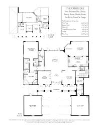 house floor plans with tandem garage