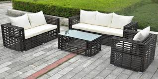Outdoor Sofa Sets by Garden Cane Furniture Sofa Set Krss106 China Outdoor Furniture