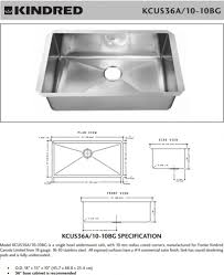 standard size kitchen sink best sink decoration