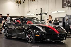 Ferrari F12 America - ferrari f60 america painted in nero pastello w a red central