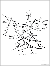 Christmas Tree Lights Coloring Page Free Coloring Pages Online Light Coloring Page