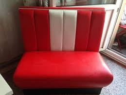sofa bei ebay kaufen dinerbank rot weiß polster bank sofa in niedersachsen