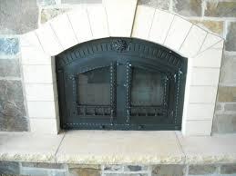 san antonio fireplace door alluring fireplace doors wrought