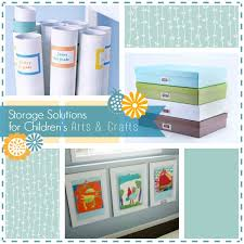 Arts And Craft Storage For Kids - organization storage solutions and youtube videos