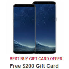best deals on gift cards unlocked samsung galaxy s8 and s8 come with free 200 gift cards