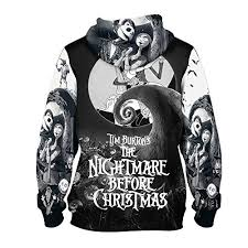 skellington the nightmare before pullover hoodie