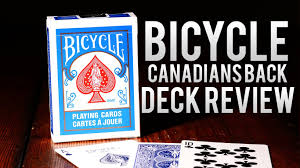 deck review bicycle canadians cards