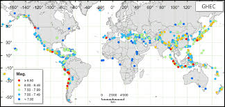 map of equator earth history are there more earthquakes near the equator or