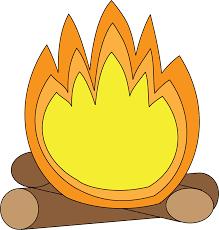 bonfire clipart kid campfire 2556472