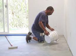 G Floor Roll Out Garage Flooring by How To Refinish A Garage Floor How Tos Diy