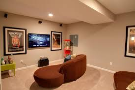 basement decorating ideas to create a multi functional living space