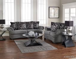 creative decoration gray leather living room sets marvellous