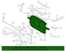 nissan 370z price south africa genuine nissan 370z radiator support 62501 1ea0a ebay