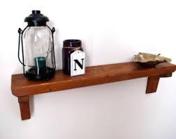 Rustic Wood Bookshelves by Rustic Wood Shelf Etsy