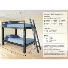 Aluminum Bed Frame Standard Bed Frame Height Lofts Aluminum Bunk Bed Set Photo 2 Bed