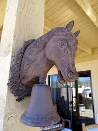 cast iron horse dinner bell dinner bell iron and horse