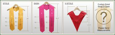 custom graduation sashes graduation stoles and sashes manufacturer in china