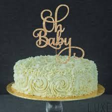 gender reveal cake topper oh baby cake topper for baby shower gender reveal party birthday
