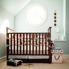 Chevron Boy Crib Bedding Boy Crib Bedding Spaces Transitional With Baby Bedding Boy Nursery