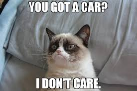 I Don T Care Meme - you got a car i don t care meme grumpy cat bed 65671