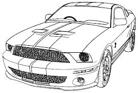 Free Coloring Pages Of Mustang Cars   mustang coloring pages coloring page