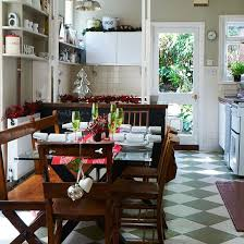 Christmas Dining Room Table Decorations Budget Christmas Table Ideas Ideal Home