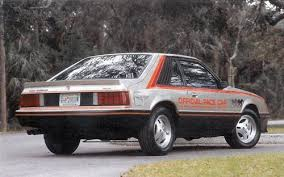 1979 ford mustang pace car ford mustang indianapolis 500 pace car 1979