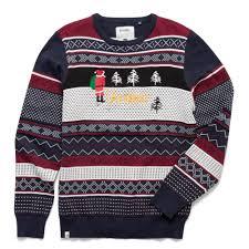 altamont khaki altamont bad santa sweater sweaters