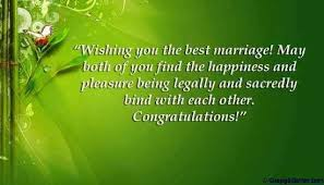 wedding greeting words marriage greetings how to congratulate newlyweds through words