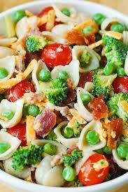 Pasta Salad Mayo by Broccoli Bacon Ranch Pasta Salad