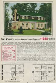 Dutch Barn House Design Gambrel Style Barn Homes Dutch Colonial Revival 1931 Aladdin