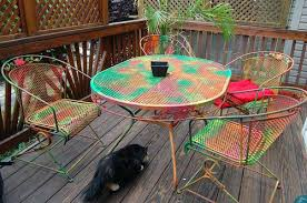 Ideas For Painting Garden Furniture by Painting Patio Furniture U2013 Bangkokbest Net