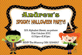halloween birthday invitations best invitations card