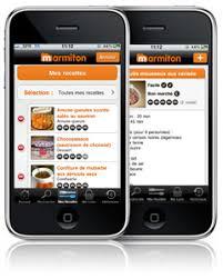 application recettes de cuisine application iphone marmiton 50 000 recettes de cuisine sur votre
