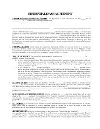 free printable residential lease agreement form sample helloalive