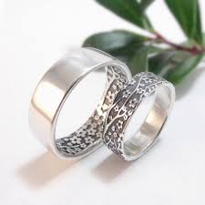 womens wedding ring womens wedding ring set womens wedding band set cherry blossom