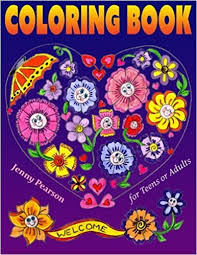 amazon coloring book teens adults stress relief