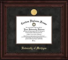 of michigan diploma frame of michigan executive college graduate home office diploma frame