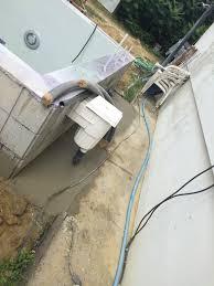 Escalier D Angle Piscine Beton Dalle Pour Le Local Technique Et Escalier Extérieur U2013 Construction