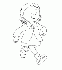 caillou printables images reverse