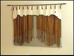 faux suede curtains for western rustic office followpics co