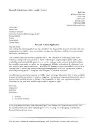 cover letter example for research job mediafoxstudio com